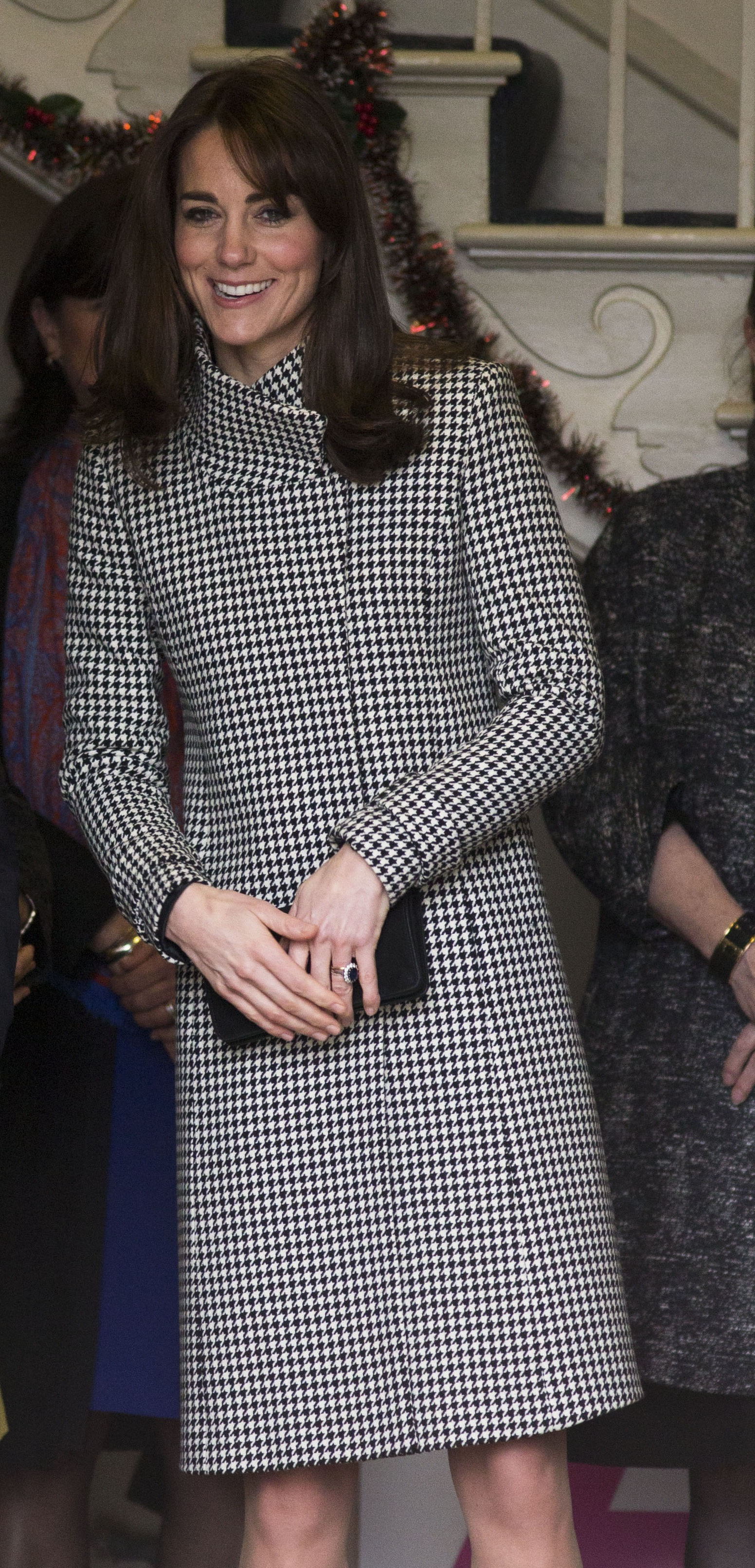 Image licensed to i-Images Picture Agency. 10/12/2015. Warminster, United Kingdom. The Duchess of Cambridge leaving the Action on Addiction Centre for Addiction Treatment Studies in Warminster, Wiltshire, United Kingdom. Picture by Stephen Lock / i-Images