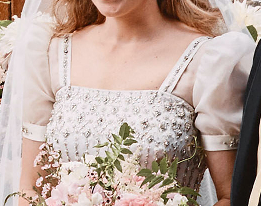 Updated Princess Beatrice Remodels Queen S 1960s Dress For
